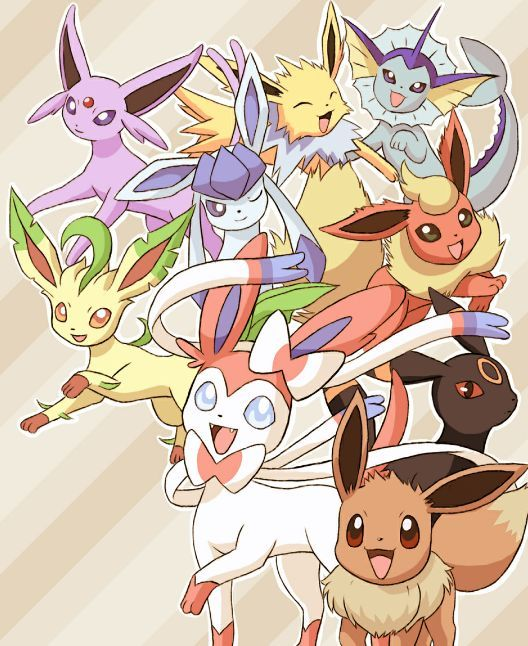 Which Eeveelution Are You? -Pokémon   Created by: Rachel Arabelle (Me)