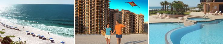 Seachase resort, orange beach, al. It's really nice and I remember staying here with my best friend before she died. Good times :)