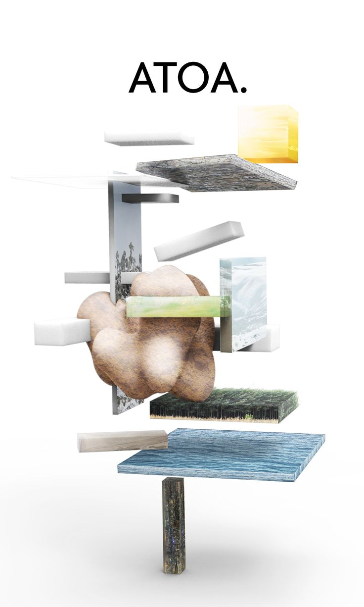 """ATOA.   Poster Design / Entry for """"Blank Space"""" Competition with the Theme of """"Dear Architecture"""" by Gumwörk   2015"""
