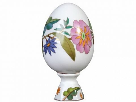 26 best easter gifts images on pinterest easter gift porcelain porcelain collectible easter egg on stand colorful wreath negle Image collections