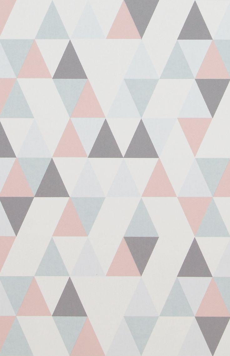 Vliestapete 218183 Hej Geometrisch Grau Rosa Einfach Mal Anders Eine Geometrische Tapete Mit Elementen In Gr Geometrische Tapete Tapeten Tapeten Jugendzimmer