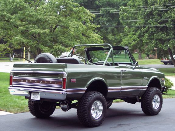 1972 K/5 Blazer CST this is exactly what my truck looked like when it was brand new!!!