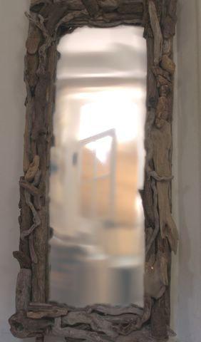 miroir et cadre en bois flott id es loisirs cr atifs et autres pinterest. Black Bedroom Furniture Sets. Home Design Ideas