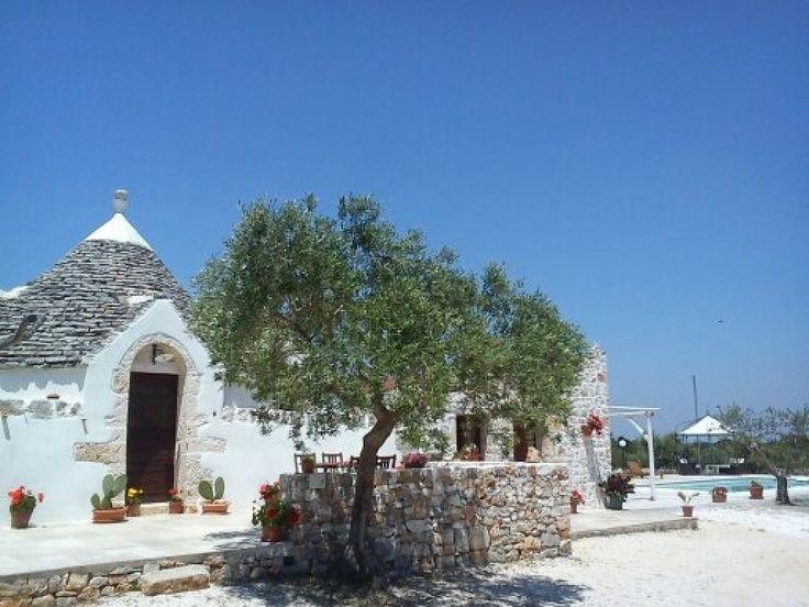 Apulien, südlich von Bari- Affitto Trullo con piscina a Castellana grotte in Polignano a Mare