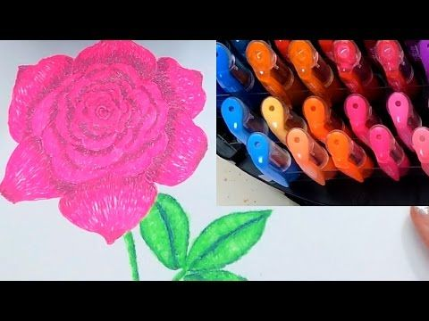 Learn The Basics Of Coloring And Blending With Gel Pens Jennifer Stay Pages