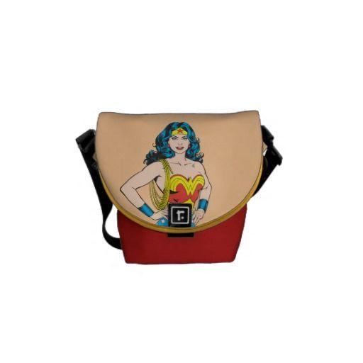 Wonder Woman Portrait Courier Bag