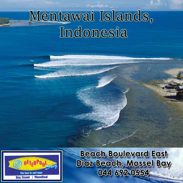 Surfing Spots! Mentawai Islands, Indonesia. The Mentawai Islands are made up of 70 wave-rich chains off the western coast of Sumatra, Indonesia. If you want to be hit by a barrage of beautiful waves, the four picks of the southern and northern points of Pagi, Siparo, and Siberut are your best choices.  #surfing #spot #Indonesia