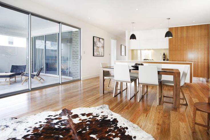 Open plan living maximises this space and allows living zones to complement each other...