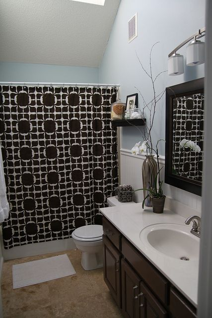 It  39 s not news that honey oak and I are not friends  like here   here   and here    The guest bathroom remodel of course included honey oak t. 1000  images about Bathroom on Pinterest   Toilets  Glass mosaic