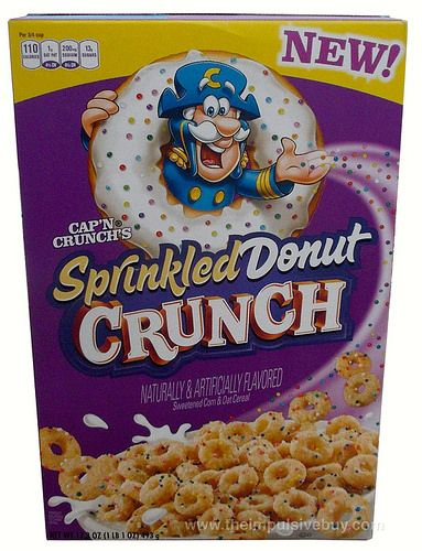 REVIEW: Cap'n Crunch's Sprinkled Donut Crunch Cereal