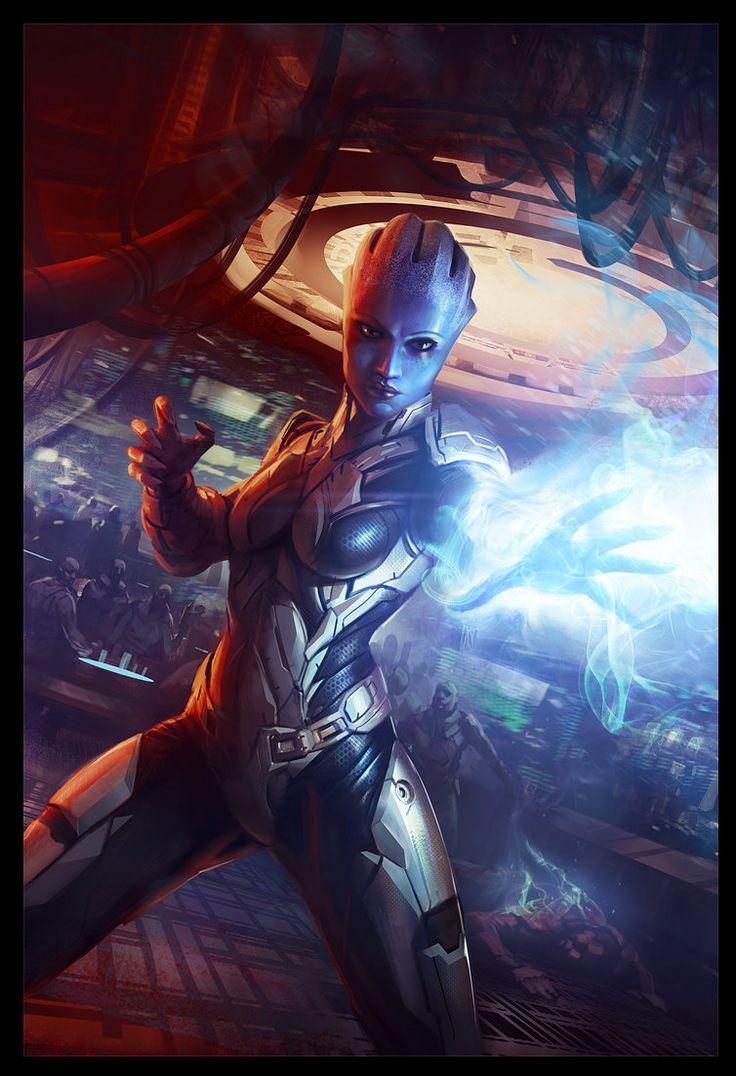 Mass Effect, Daryl Mandryk on ArtStation at https://www.artstation.com/artwork/mass-effect