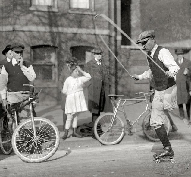 Here's some inspiration - jumping rope, on roller skates - one-leg!Herbert Belle, Photos, Jumping Ropes, 1921, Rollerskat Jumping, Black And White, Rollers Skating, Oneleg Rollerskat, January 29