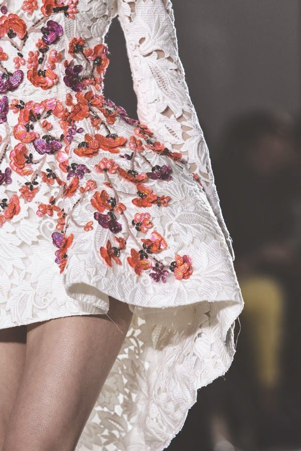 {fashion inspiration | runway : giambattista valli spring 2014 couture}