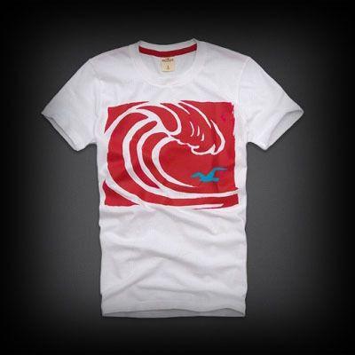 Hollister メンズ Tシャツ ホリスター Hammerland T-Shirt Tシャツ ★ホリスターを代表するカモメマークがプリントされています。 ★色あせたコミカルなグラフィックなスクリーンプリントがいい感じに味が出ている。
