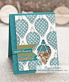 """CHRISTMAS GLEAMING"" – A CATALOG CASE & HOW TO MAKE AN EASY SHAKER CARD"