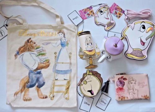 BNWT-Primark-Purse-Disney-Beauty-and-the-Beast-Coin-Purse-Bag-Wallet-SOLD-OUT