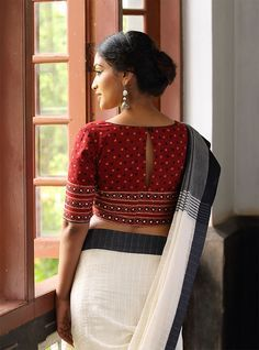 Blouses: Buy Designer Kaithari Blouse, Patchwork Blouse Online ...