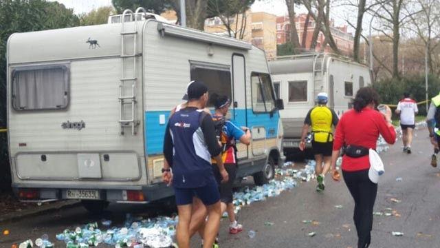 WegSleep se webjoernalis, Adnaan Mohamed, was in Spanje en Italië waar hy twee marathons in twee agtereenvolgende naweke letterlik kafgedraf...