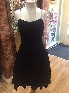 1980s Vintage Black Cocktail Dress | eBay
