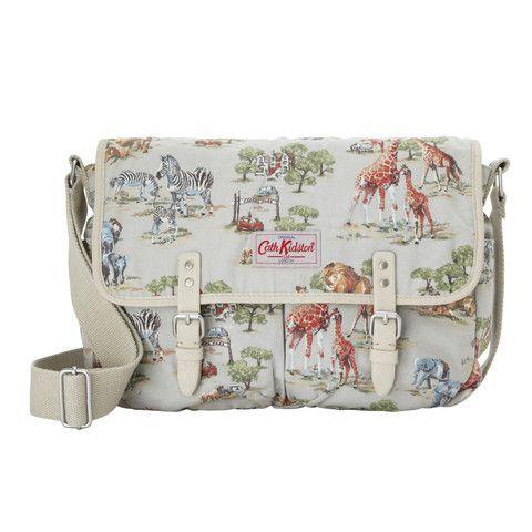 Cath Kidston cotton saddle bag - Safari