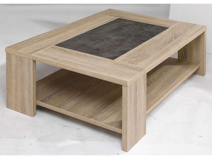 Table basse canape salon ps and tables - Table basse avec tablette ...