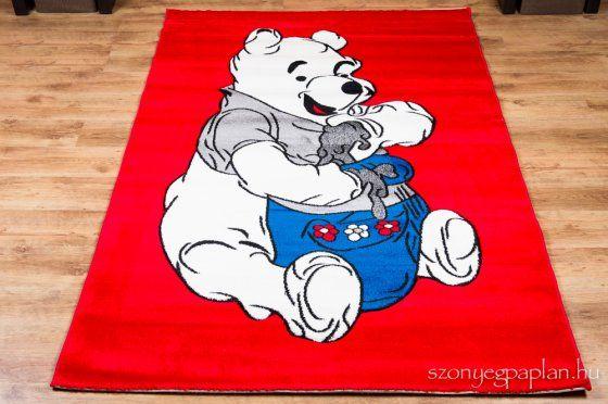 Kids Mici mackó 006 N.red szőnyeg 200x300 cm