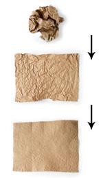 Simulating bark paintings.. each kid could get a brown paper bag!
