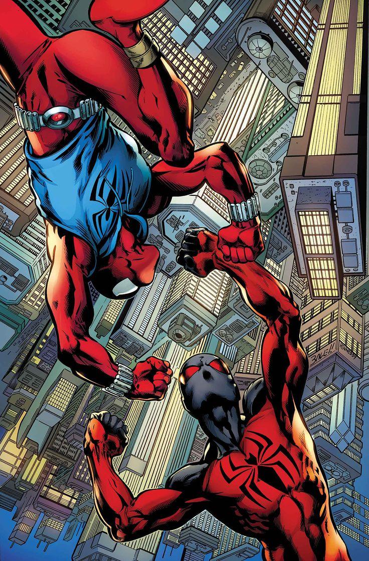 BEN REILLY SCARLET SPIDER #4Esperamos que haga la diferencia, porque la araña escarlata está en desacuerdo con un señor del crimen profundamente conectado y su impermeable consigliere. ¿Y Kaine finalmente alcanzará a su hermano-clon ?!