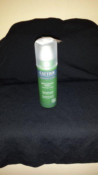 Cattier Paris Men's Organic Deodorant