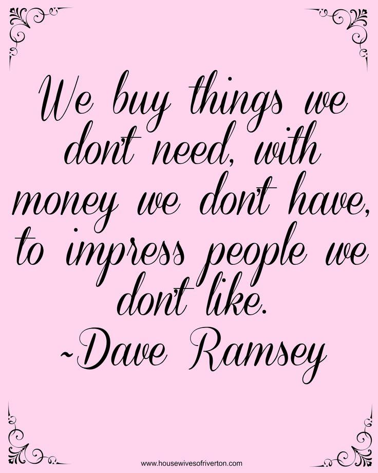 Dave Ramsey Financial Peace University | www.housewivesofriverton.com