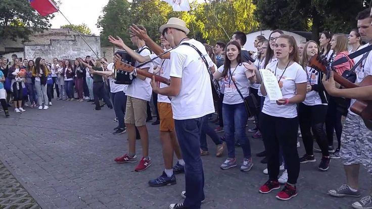 Powitanie Pielgrzymów ŚDM w Międzyrzecu Podlaskim