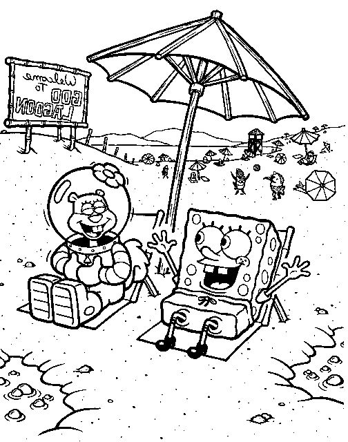 sandy pikachu coloring pages - photo#14