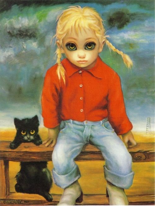 Big Eyes Keane Paintings