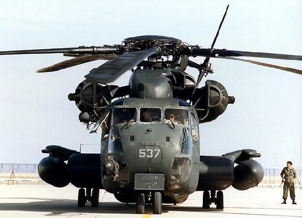 Hard Surface Reference: CH-53E Super Stallion Helicopter