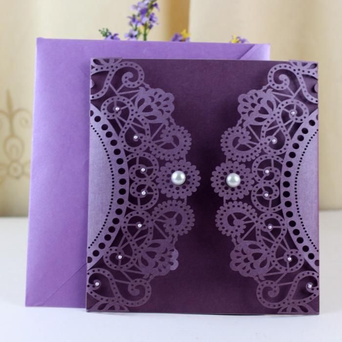 Wholesale free funny greeting cards, free greeting birthday cards and free greeting card online which provided by yourdiycards are all of good design from China. Get purple luxury laser cut wedding invitation cards with jewel wedding decoration and party gifts customized free design on DHgate. com.
