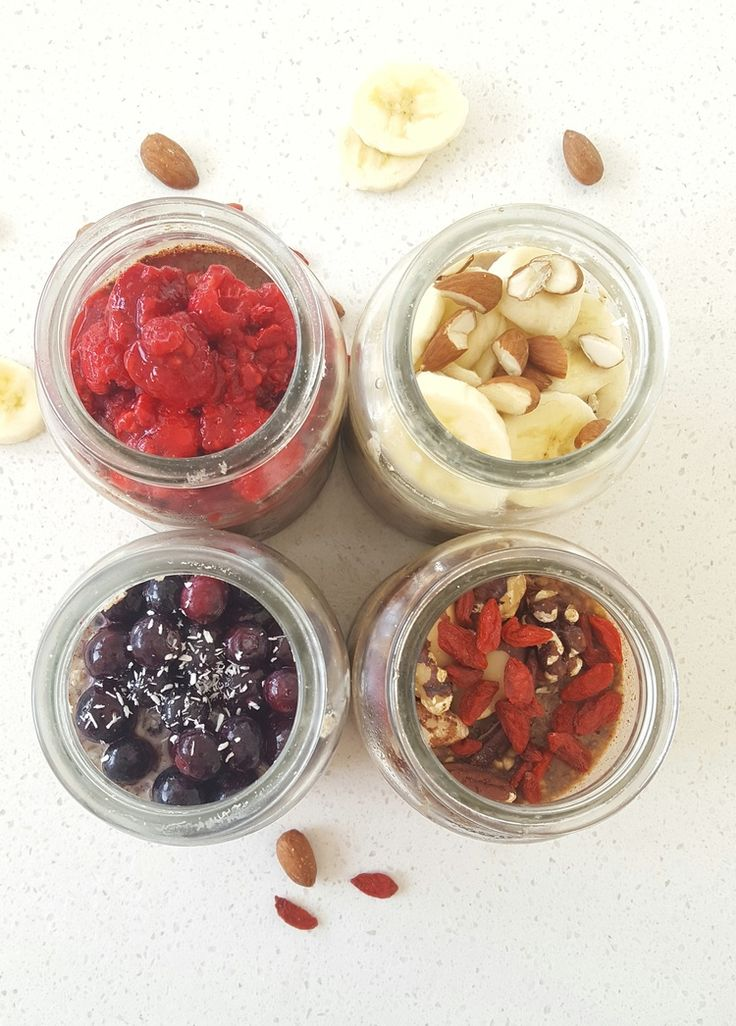 4 Overnight Breakfast Jars To Go! — Natalie Brady