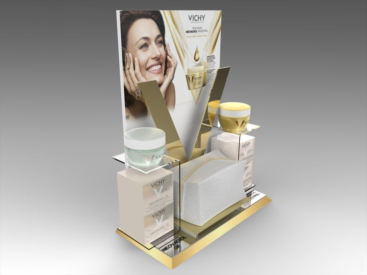 Cosmetic Counter Displays by Stelios Tsatsaronis at Coroflot.com