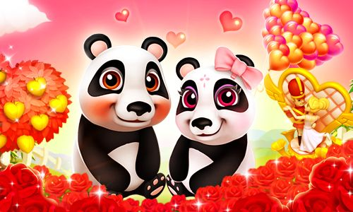 These two little pandas have eyes only for each other... Aren't they cute?  #royalstorygame #royalvalentines