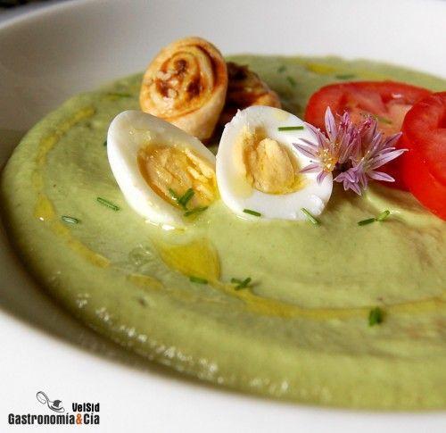 Receta De Gazpacho De Aguacate | Gastronomía & Cía