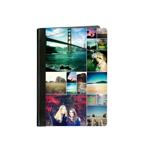 iPad Cases: Collage Squares, Black, iPad mini, mini 2, White