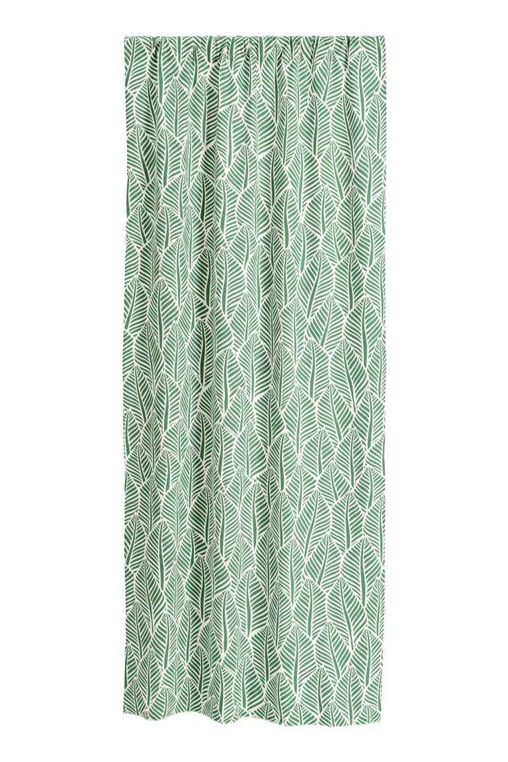 2-pack patterned curtains | H&M
