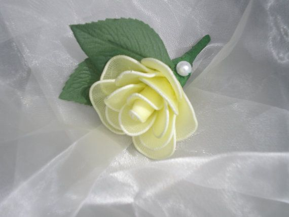 Rose Button Hole Wedding Favours Wedding Flowers by Flowerfavours, $8.50