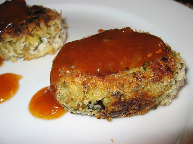 Curry Eggplant Croquettes with Mango Chutney by Kevin - Closet Cooking ...