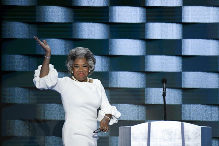 Joyce Beatty Just Rocked Out in the Same Dress as Melania Trump