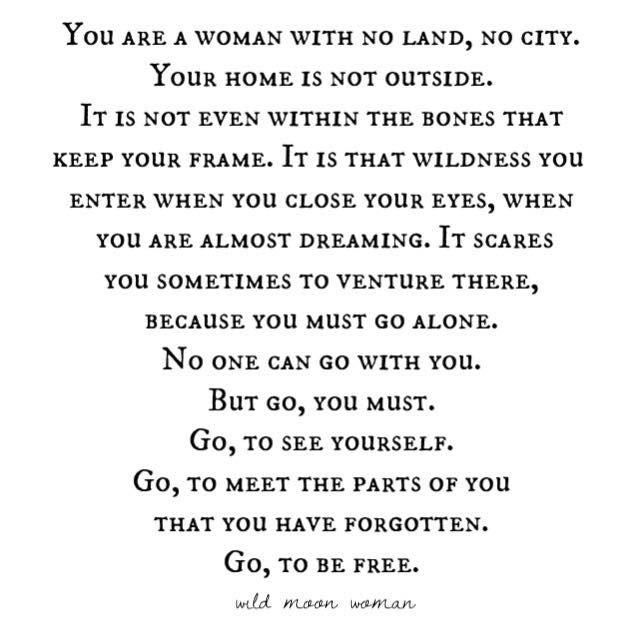 Poetry — Wild Moon Woman