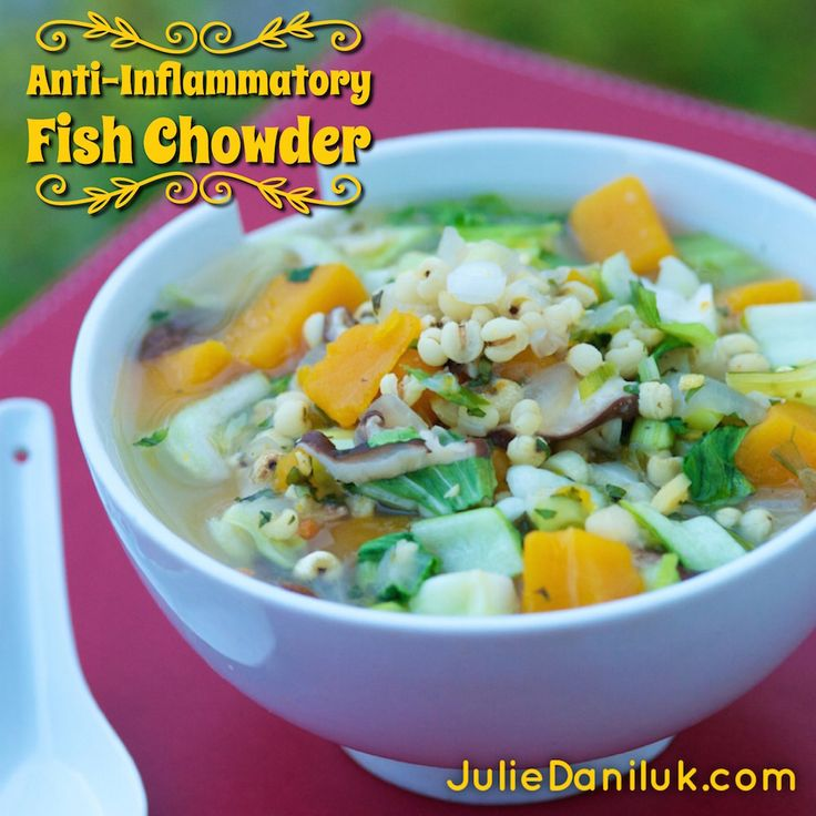 Anti-Inflammatory Fish Chowder
