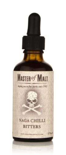 ONLY BITTERS - Master of Malt Naga Chilli Bitters 50ml