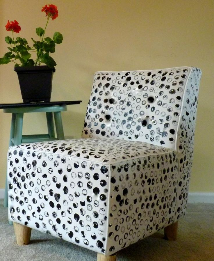 Paint A Microsuede Chair To Look Like Leather Diy Home