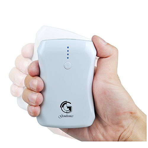 Gembonics 8000mAh Portable Charger - External Battery Power Bank from Gembonics for iPhone, iPad Air 2 mini 3; Samsung Galaxy S6 S5 S4; Note, Nexus, HTC, Motorola, Nokia, PS Vita, Gopro and more