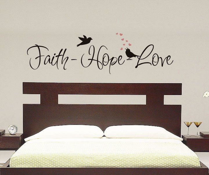1000 images about faith hope love on pinterest vinyls for Faith decor